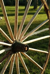Scenic wagon wheel