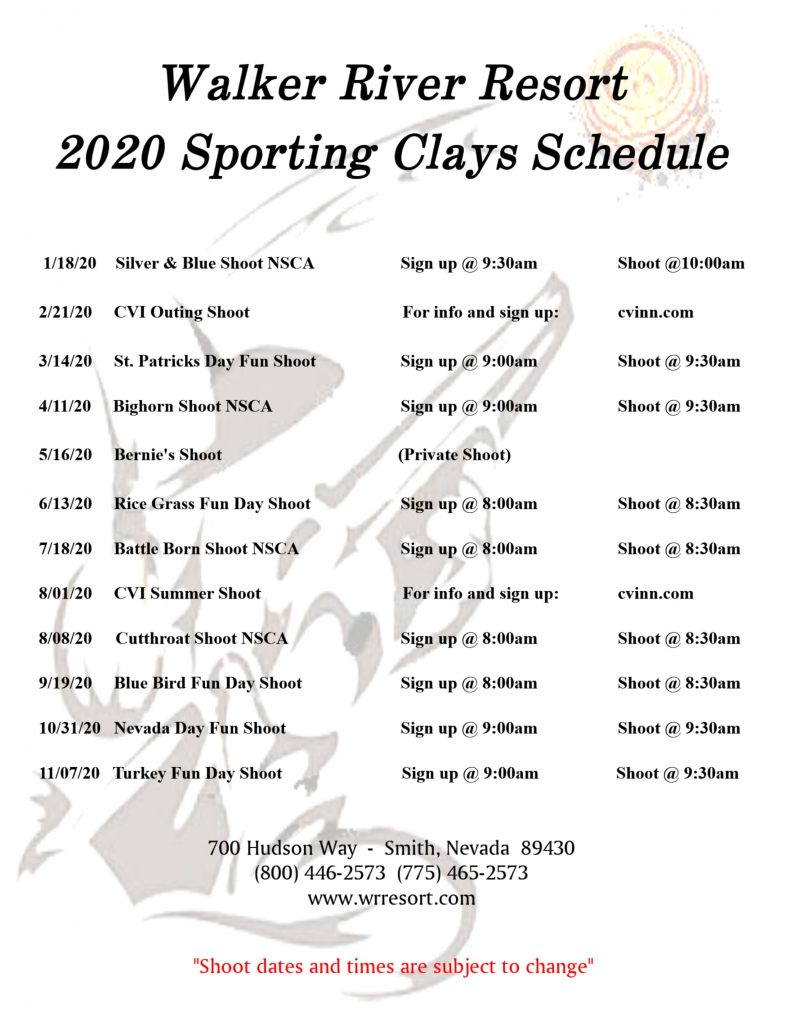 Sporting Clays 2020